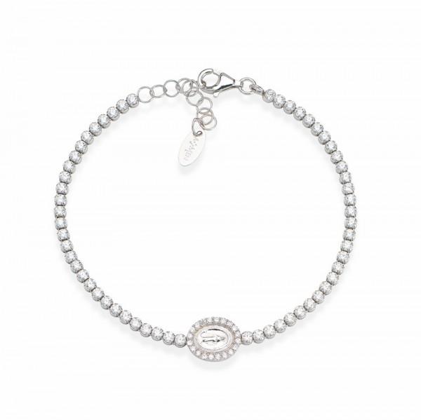 AMEN Armband 16 + 3 cm Silber TMIB