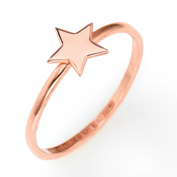 AMEN Ring Silber Stern Gr. 54 ASR-14