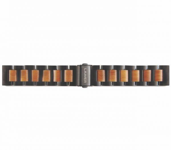 LAiMER Uhrband Apfelholz 20 mm UB91