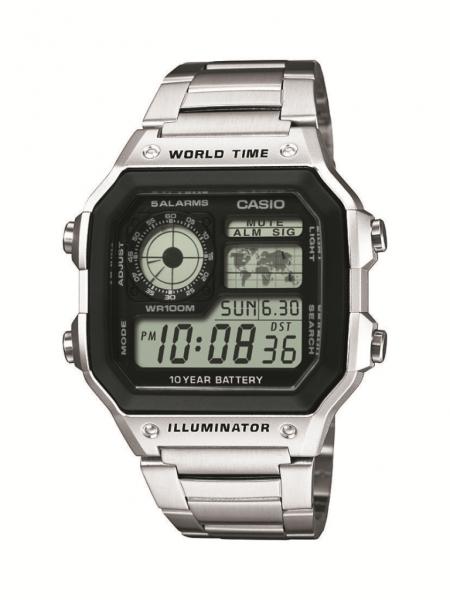 CASIO Armbanduhr CASIO Collection Men AE-1200WHD-1AVEF