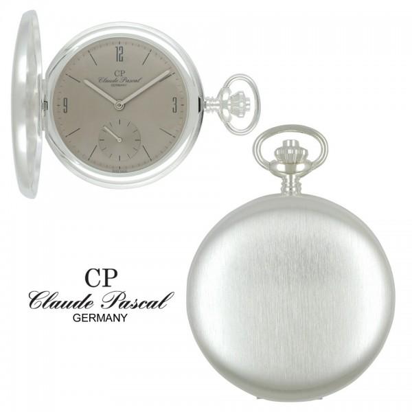 Claude Pascal Taschenuhr Silber 925 2103 B-SB