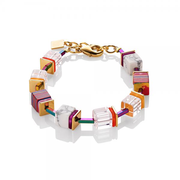 COEUR DE LION Armband Geo Cube 4798/30/1500