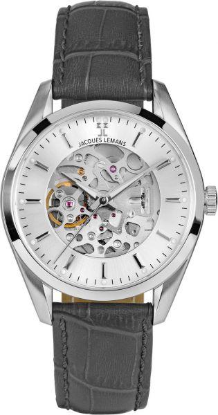 Jacques Lemans Herren-Armbanduhr Derby Automatic 1-2087A