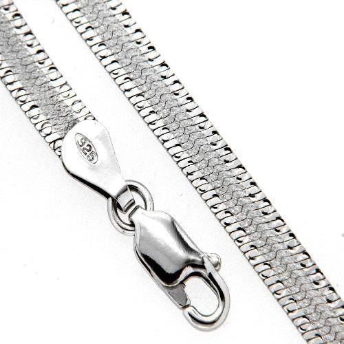 Armband Silber 925 rhodiniert19 cm