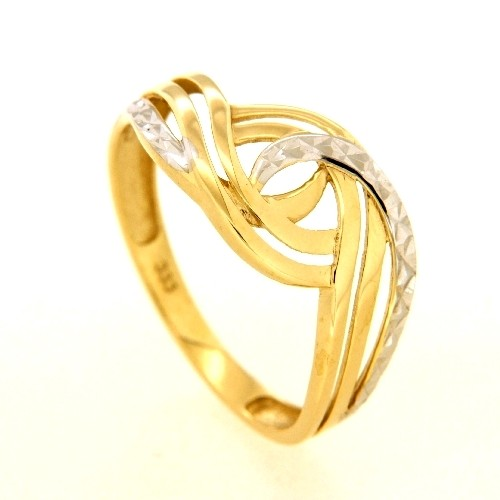 Ring Gold 333 Weite 52 bicolor