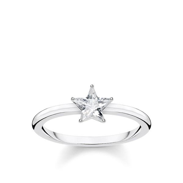 Thomas Sabo Ring Stern Größe 58 TR2270-051-14-58