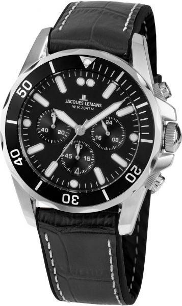 Jacques Lemans Herren-Armbanduhr Liverpool 1-2091A