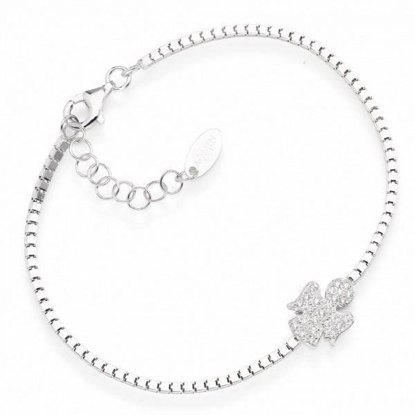 AMEN Armband 16 + 3 cm Silber BANB