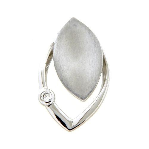 Anhänger Silber 925 rhodiniert Zirkonia